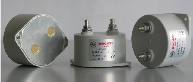 Ducati Energia Power Electronics Ac Dc Capacitors